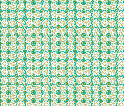 Spinning Wheel S-FF-102-2 fabric by modernprintcraft on Spoonflower - custom fabric