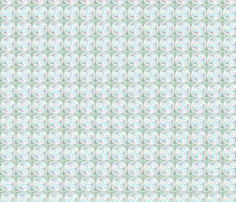 Spinning Wheel S-FF-102B2 fabric by modernprintcraft on Spoonflower - custom fabric