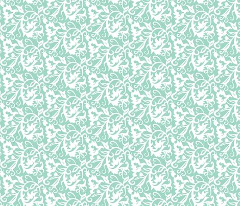 Flourish Paisley S-FF-105C2 fabric by modernprintcraft on Spoonflower - custom fabric