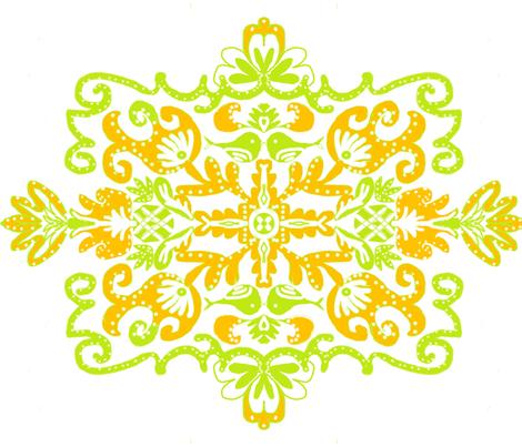 Cool Summer fabric by createdgift on Spoonflower - custom fabric