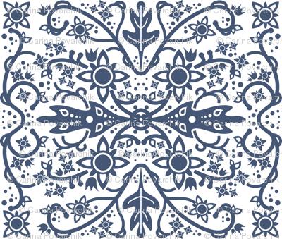 Hawaiian quilt (cheater)