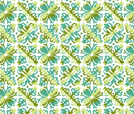 Hawaiian Love fabric by collectivesurfacellc on Spoonflower - custom fabric