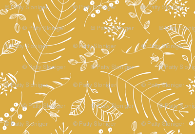 Botanika - custom color Mustard