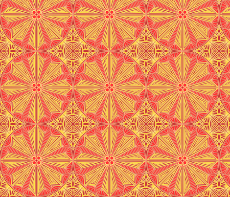 ©2011 Circle_of_Fire fabric by glimmericks on Spoonflower - custom fabric