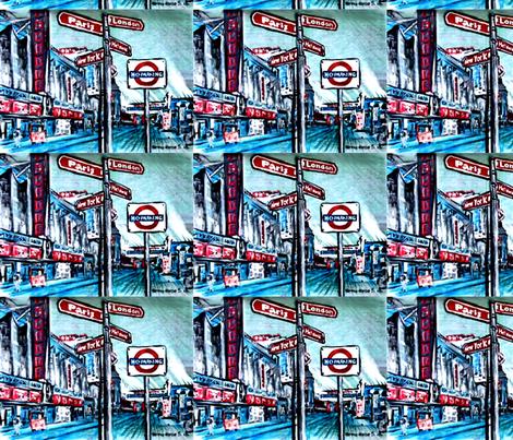 paris__london__where_do_we_go_from_here fabric by vinkeli on Spoonflower - custom fabric