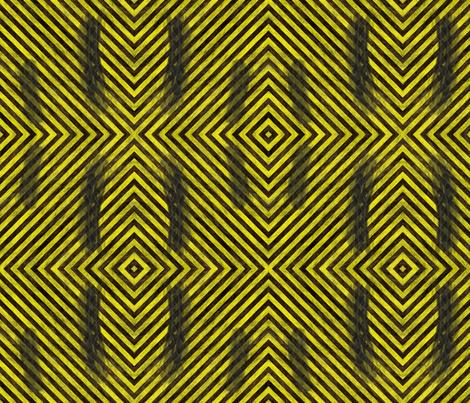 Hazard Stripes S fabric by animotaxis on Spoonflower - custom fabric
