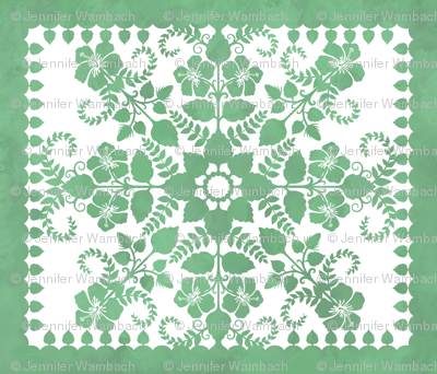 Akahai Quilt (green colorway)