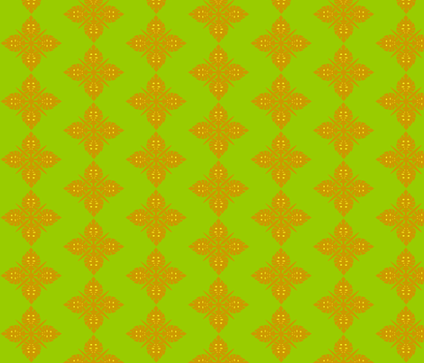 Green Hawai fabric by rosapomposa on Spoonflower - custom fabric