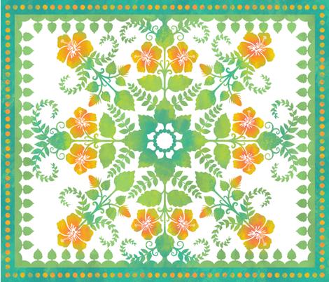 Akahai Quilt (full-color) fabric by jennartdesigns on Spoonflower - custom fabric