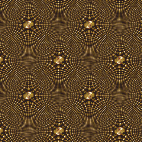 Golden Sound fabric by angelsgreen on Spoonflower - custom fabric