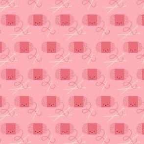 Craftiness! Pink Yarn