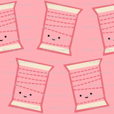 Craftiness! Pink Thread
