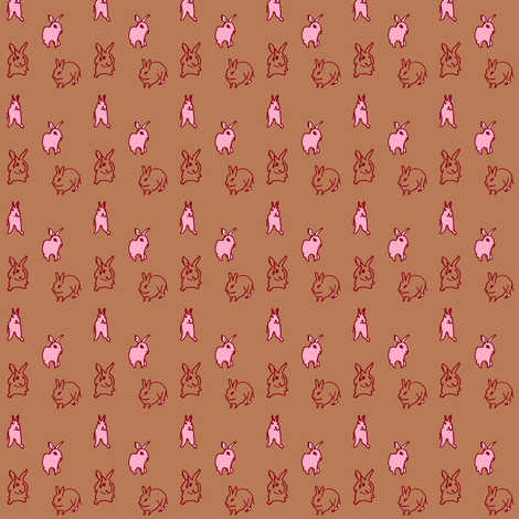 rabbit_4 fabric by sunrise on Spoonflower - custom fabric