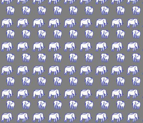 elephant_2 fabric by sunrise on Spoonflower - custom fabric