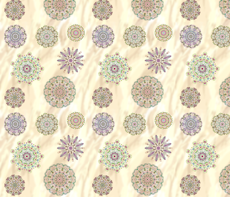 relax with mandalas fabric by lucybaribeau on Spoonflower - custom fabric