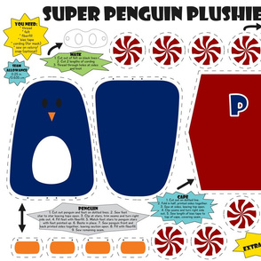 Super Penguin Plushie!