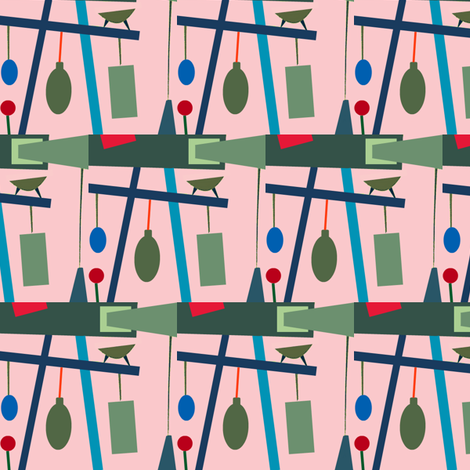 Scales Are Tipped  fabric by boris_thumbkin on Spoonflower - custom fabric