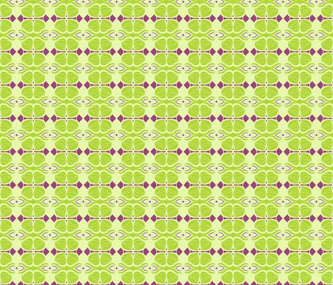 Springtime Deco fabric by paula_ogier_artworks on Spoonflower - custom fabric