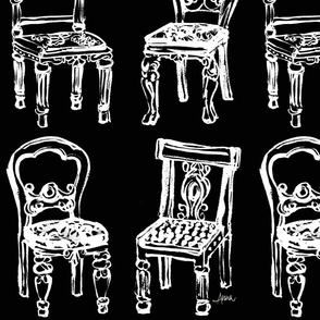 Fancy Chairs (monochrome)