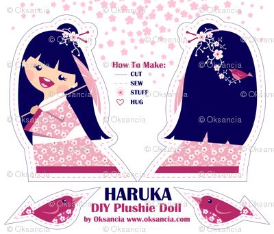 Haruka DIY Plushie Doll Kit