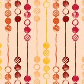 Painted Beads (Retro)