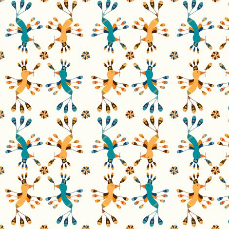 Tortolitas  fabric by gabriela_larios on Spoonflower - custom fabric