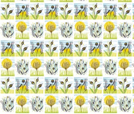 meadow_mix_2 fabric by antoniamanda on Spoonflower - custom fabric