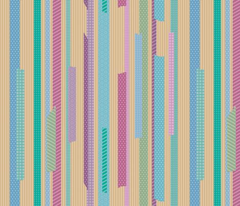 masking tape fabric by jorz on Spoonflower - custom fabric