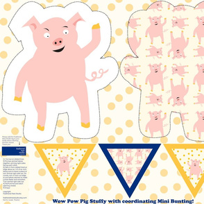 A_Wow_Pow_Pig_Stuffy_and_Mini_Bunting