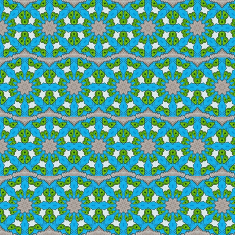 Biodegradable Kaleido fabric by chellybelle on Spoonflower - custom fabric