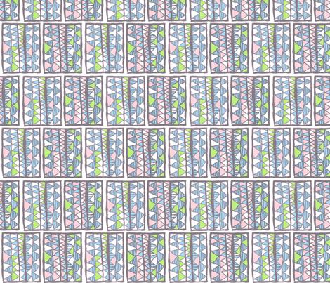 Gelati registers on white, medium, by Su_G fabric by su_g on Spoonflower - custom fabric