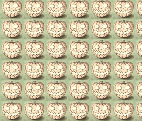 pumpkin fabric by asiaburmin on Spoonflower - custom fabric