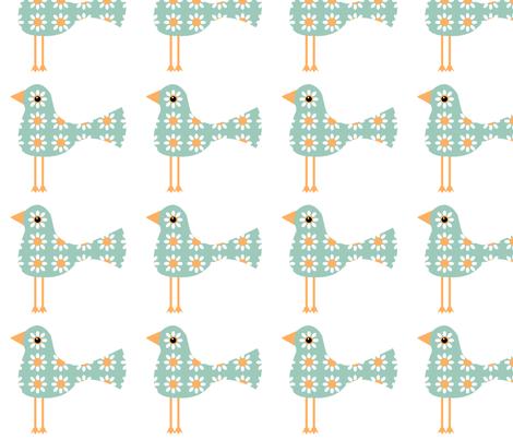 Leggy Birds fabric by nezumiworld on Spoonflower - custom fabric