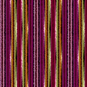 Orchid Ewe Knot Fuzzy Stripe