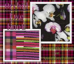 Orchid Ewe Knot Stripe