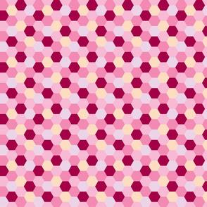 Honeycomb - Rose