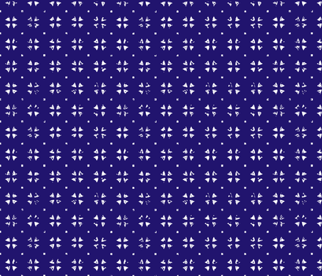 a four leaf clover fabric by blingmoon on Spoonflower - custom fabric
