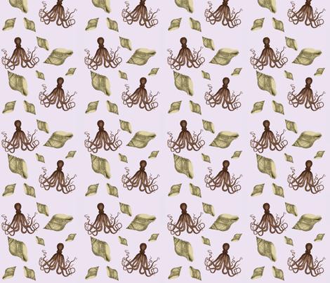 Sealife fabric by glanoramay on Spoonflower - custom fabric