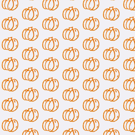 Pumpkin Patch Orange fabric by pumpkintreelane on Spoonflower - custom fabric