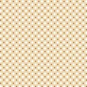 My Garden Dots Coordinate - Khaki Beige ©2011 by Jane Walker