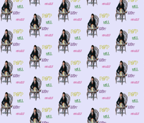 Pop will Eat Himself fabric by glanoramay on Spoonflower - custom fabric