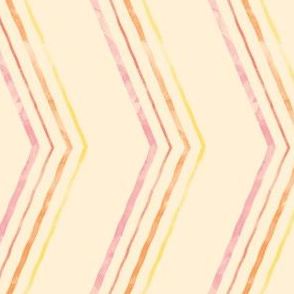 Painted Quirky Stripe (Warm)