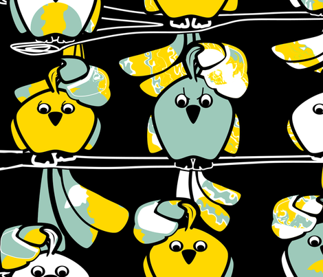 Why So Angry?... fabric by squishylicious on Spoonflower - custom fabric