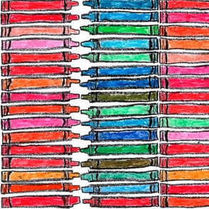 """Two hundred and sixteen crayons (2.25"""" Crayons)"""