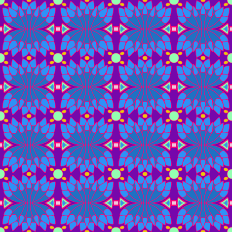 Peacock Feathers fabric by paula_ogier_artworks on Spoonflower - custom fabric
