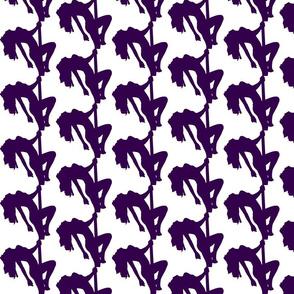 Purple Pole Dancer