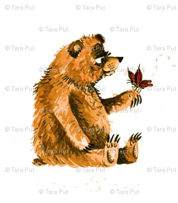 Bear Meets a New Friend
