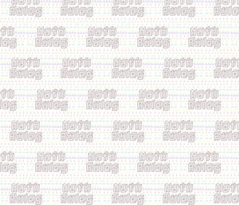Math Pillow fabric by kdukigrl on Spoonflower - custom fabric