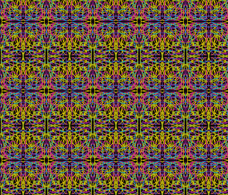 Electricity fabric by relative_of_otis on Spoonflower - custom fabric