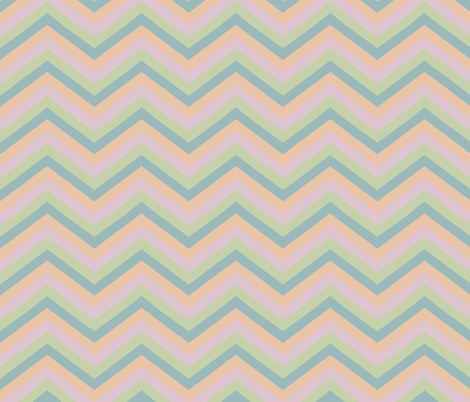 chevronfaded fabric by jara_by_jacki on Spoonflower - custom fabric